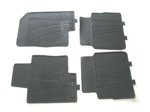 11 12 13 14 Hyundai Sonata Black Rubber All Weather Floor Mats Rugs Liners Set