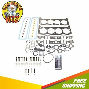 Head Gasket Set Bolts Kit Fits 87 95 Pontiac Firebird 5 7l V8 Ohv 16v Chevrolet