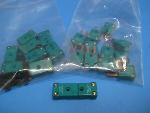 Johnson Matthey Type R Thermocouple Miniature Quick Release Lot Of 9 M f New