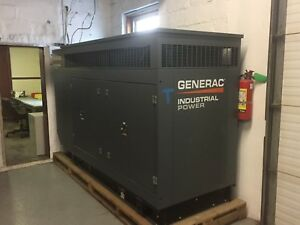 Generac Generator 100kw Single Phase brand New lp natural Gas Outdoor Unit