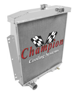 1954 1955 1956 Ford Mainline 3 Row Eagle Champion Radiator