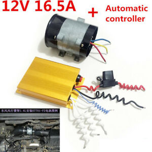Universal 12v 16 5a Car Truck Electric Turbine Power Turbo Automatic Controller