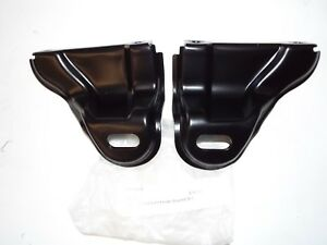 1956 Chevy Chevrolet Belair 210 150 All Models Front Bumper To Fender Brackets