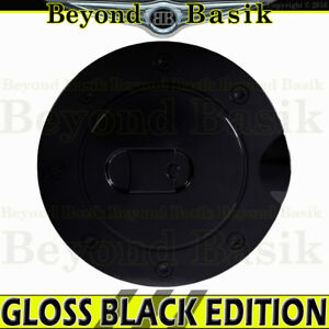 2009 2014 Ford F150 F 150 Gloss Black Fuel Gas Door Cover Trim Overlay Caps Abs