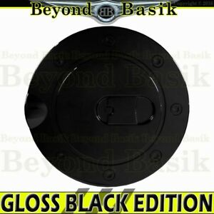 1999 2000 2001 2002 2003 2004 Ford Mustang Gloss Black Fuel Gas Door Cover Cap