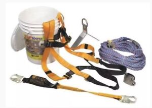 Miller Ready Roofer Fall Protection System brfk25 25ft New
