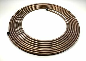 3 8 375 O D Copper Nickel Tubing Roll 25 Ft Easy Flare Easy Bend