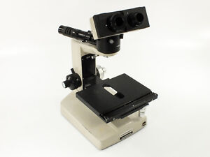 Mcbain Instruments Olympus Bhm Microscope Parts Only As is