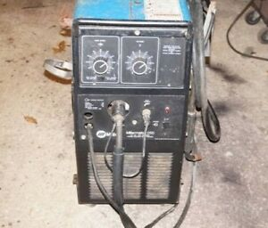 Miller Millermatic 250 wire Feed Mig Welder Local Pick Up New Jersey