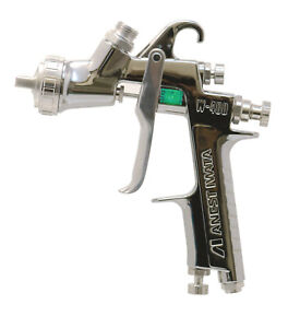 Anest Iwata W 400 162g 1 6mm Gravity Spray Gun No Cup Center Cup Guns W400