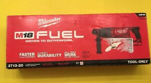 Milwaukee 2713 20 M18 1 Cordless Sds Plus D handle Rotary Hammer Tool Only