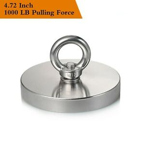 Wukong 1000lbs Pulling Force 453kg Magnetic Grade N52 Round Neodymium Ma New