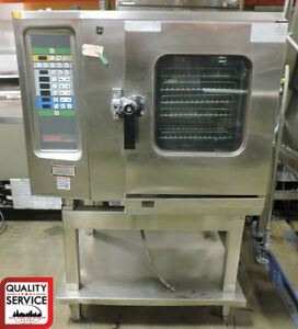 Lang Lce 61 dp Commercial Electric Half Size Combi Oven