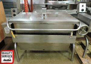 Groen Hfp 1 4 Commercial Manual Tilt Gas Braising Pan
