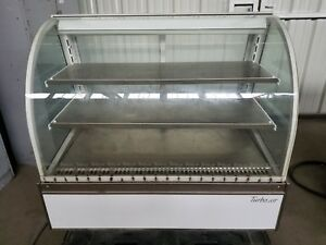 Turbo Air Bakery Deli Show Case Curved Glass Refrigerated