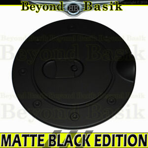 For 1994 2008 Dodge Ram 1994 2011 Dakota Matte Black Fuel Gas Door Cover Overlay