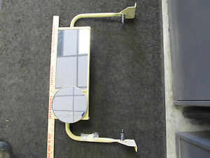 Military Mirror West Coast Style Left On Bracket New Mrap Universal