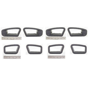 Oem New 12 14 Ford Mustang Recaro Front Seat Belt Harness Trim Cover Bezels
