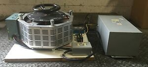 Superior Electric Component Powerstat Variac Transformer 3 Kva Hv 240 480 B