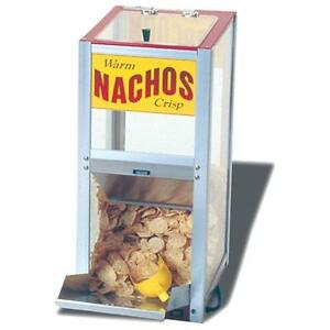 Commercial Nacho Chips Peanuts Popcorn Warming Cabinet Merchandiser Concession
