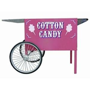 Paragon Pink Cotton Candy Wheeled Cart Commercial Vending Concession Stand