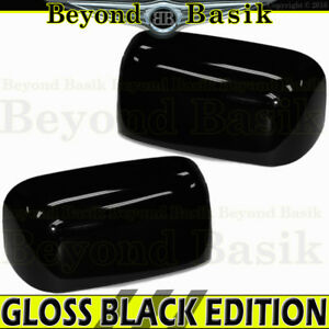 For 2002 2008 Dodge Ram 1500 03 09 2500 3500 Gloss Black Mirror Covers Towing