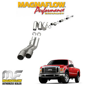 Magnaflow 4 Stainless Dpf Back Exhaust System 08 10 Ford 6 4l Powerstroke 17988