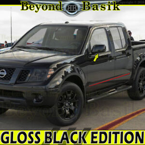 Fits 2005 2018 Nissan Frontier 2005 2012 Pathfinder Gloss Black Mirror Covers