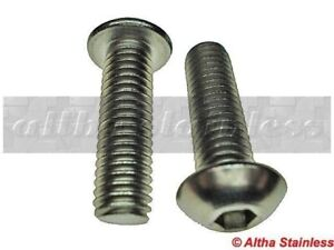 Oldsmobile Pontiac Button Head Bolts Ss 5 16 18 X 3 4