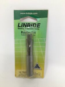 Linbide Carbide Router Bit Upcut downcut Compression Cut Drilling Spiral 1 2