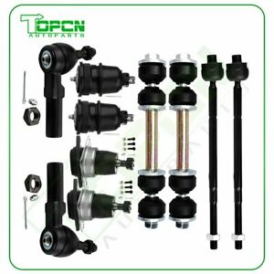 New 10pc Complete Front Suspension Kit For Chevrolet Camaro And Pontiac Firebird