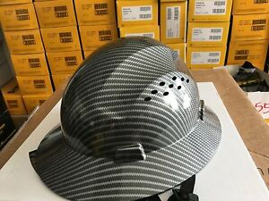 Safety Cap Hard Hat Hdpe Hydro Dipped Head Helmet Impact Protection Industrial