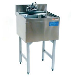 Bar Sink Commercial Stainless Steel Underbar Hand Sink 18 X 19