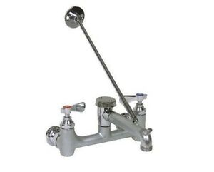 Commercial 8 Center Wall mount Service Sink Faucet