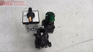 Mixed Lot Of 3 Selector Switches Allen Bradley 194l a16 2x Cutler Hammer