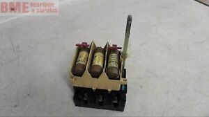 Allen Bradley 194r nj030p3 Fuse Disconnect Switch 30 A 600 V Ac 250 V Dc Max