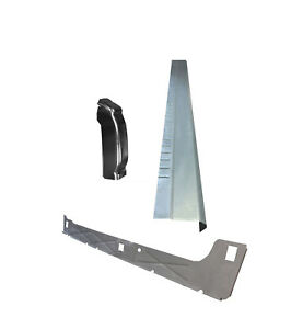 1999 07 Chevy Silverado 4dr Ext Cab Inner Outer Rocker Panel With Cab Corner