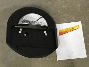 2005 2009 Hummer H2 Black And Chrome Rear Spare Tire Cover New Gm 25782333