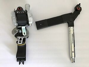 Santa Fe 2013 2016 Driver Black Seat Belt Retractor With Tensioner Oem 2 Parts