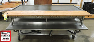 Wells G 60 Commercial 69 Teppanyaki Electric Griddle W 72 Equipment Stand