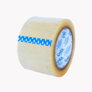 Industrial Extra Heavy Duty Clear Tape 3 Inches Wide 110 Foot Long Pack Of 2