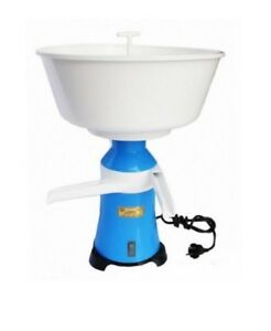 Separator Milk Cream Electric Centrifugal Plastic 100l h Motor Sich 100 19 3 4kg