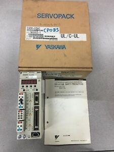 New In Box Yaskawa Servo Pack Sgdh 02ae