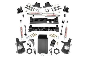 Rough Country 6 Gm Ntd Suspension Lift Kit 99 06 1500 Pu 4wd 27220a