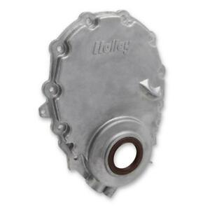 Holley Engine Timing Cover 21 150 Natural Cast Aluminum For 96 up Chevy Vortec