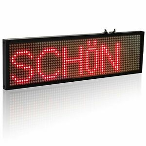 P5 Smd Led Sign Scrolling Message Display Board Red Green Yellow White 4 Color