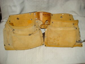 Bench Top Heavy Leather Tool Belt Electrician Plumber Carpenter Handyman 50