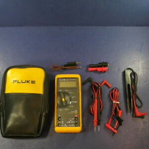 Fluke 78 Automotive Meter Excellent Condition Case More