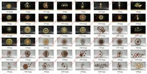 50 Nice Clocks Design All Collection Dxf Eps File For Cnc Plasma Router Laser