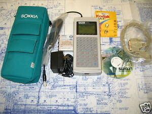 Sokkia Sdr33 1mb Data Collector Perfect Warranty Complete Kit Genuine Sdr 33